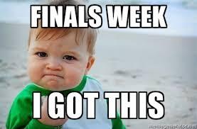 Final Exam Meme - announcements corban clips