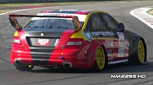 mercedes racing car mercedes c63 amg race car sound