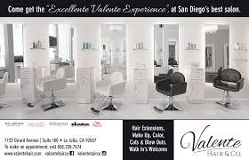 press valente hair
