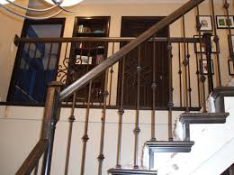 Banister Replacement Complete Stair Railing Replacement Staircase Transformation Kc