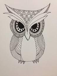 tribal owl by dalzius on deviantart