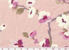 Cherry Blossom Upholstery Fabric Braemore 100 Linen Craft Fabrics Ebay