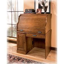 ashley furniture writing desk h214 23b ashley furniture drake home office roll top desk base