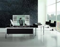 Glass Office Desk Black Glass Executive Desk X4 Benching Desking Executive