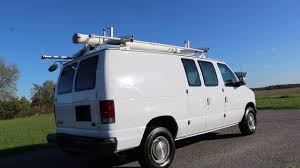 2003 ford e350 econoline cargo van for sale racks divider am fm