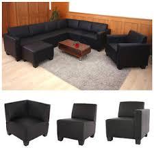canape modulaire canapé élément lyon système de canapé modulaire simili cuir noir