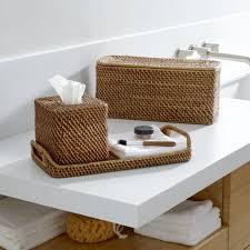 sedona honey bath accessories crate and barrel