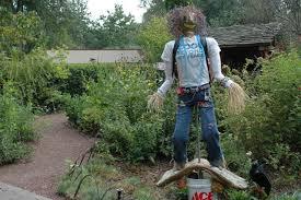Ideas For School Gardens Easy Build Woodworking Garden Scarecrow Ideas