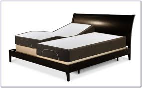 bedroom design appealing black tufted bed with split queen