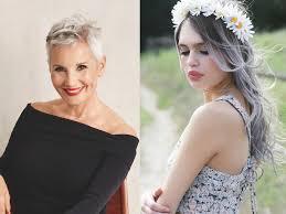 coupe cheveux gris cheveux gris on ose cette tendance femme actuelle