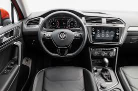 volkswagen dashboard volkswagen tiguan 2018 motor trend suv of the year contender