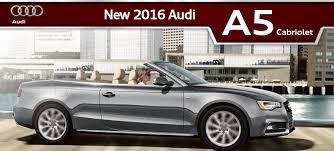 convertible audi 2016 2016 audi a5 cabriolet in jacksonville fl