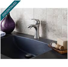 brushed nickel jaida single control centerset bath faucet f 042
