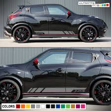 Roof Rack For Nissan Juke by Nissan Juke Turbochargerd Motorsport Side Stripe Decal Graphics