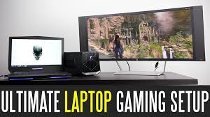 ultimate laptop gaming setup youtube