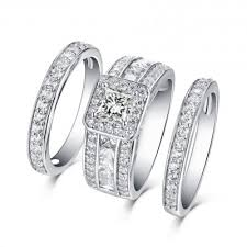 wedding ring sets cheap bridal sets cheap bridal ring sets wedding ring sets lajerrio