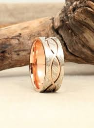 mokume gane white gold and sterling silver mokume gane wedding band