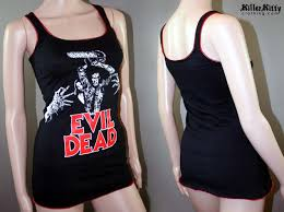 evil dead 80s horror movie tank top shirt ash vs the evil dead