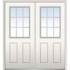 Prehung Exterior Steel Doors Door 64 X 80 Steel Doors Front Doors The Home Depot