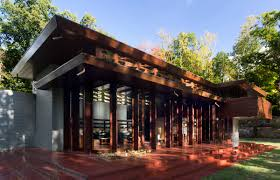 inside the frank lloyd wright home that traveled 1 200 miles