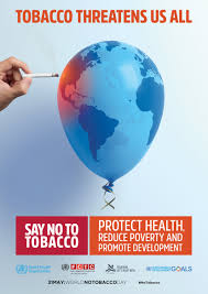 Ideas Image by Who World No Tobacco Day 31 May 2017