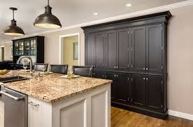 Semi Custom Cabinets Use Semi Custom Cabinets To Create Cabinet Buffet Or Pantry