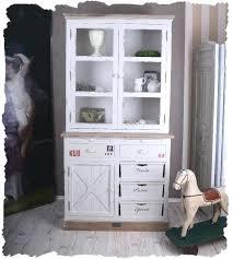 etagere meuble cuisine meuble cuisine shabby chic armoire en bois hetre blanc antique