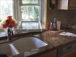 Kitchen Sink Window Treatments - kitchen over the kitchen sink wall decor bay window prices small
