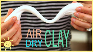diy air dry clay easy recipe youtube