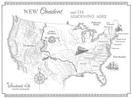 Real World Map Maps In Literature For Youth