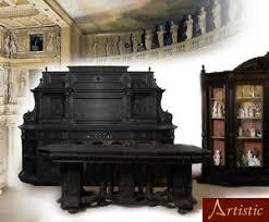 sala da pranzo classica antica sala da pranzo classica palladiana 1700 noce ebanizzato