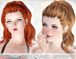sims 3 hair custom content formal hairstyles sims 3 cute waves formal hairstyle newsea s