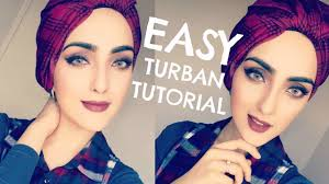 video tutorial turban style how to turban hijab knot style immy youtube