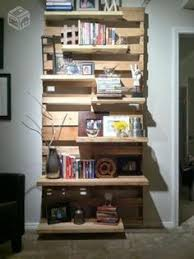 wall decoration made from pallet sides pallet storage wall