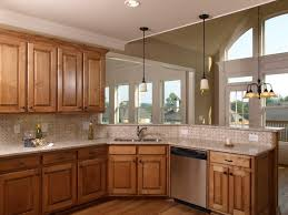 red oak wood amesbury door natural maple kitchen cabinets