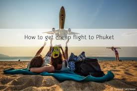 how to get cheap flight to phuket thavorn beach village resort