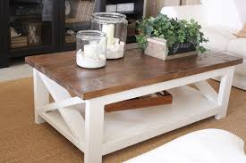 square cottage coffee table livingroom cottage coffee table beach house books trunk style