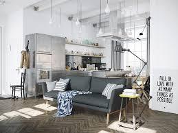 Cuisine Style Industrielle by Cuisine Style Industriel Chic Decoration Loft Atelier A Bastille