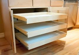 Kitchen Drawer Cabinets Custom Roll Out Shelves For Kitchen Cabinets Pantries Bathrooms