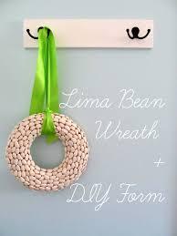 pickup some creativity lima bean wreath diy wreath form