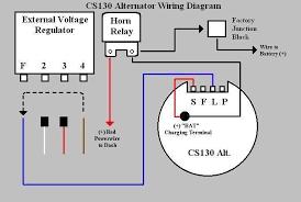 wiring diagram delco remy cs130 alternator wiring diagram