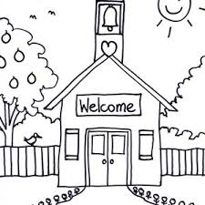 Coloring Page Of A School School House For High School Coloring Page Coloring Sky by Coloring Page Of A School