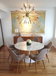 mid century dining room furniture 5 ways with the saarinen dining table hatch the design public blog