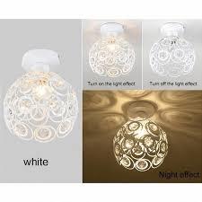 plafonnier chambre e27 blanc creative cristal minimaliste plafonnier chambre alley