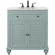 Powder Room Cabinets Vanities Home Decorators Collection Hamilton Shutter 31 In W X 22 In D