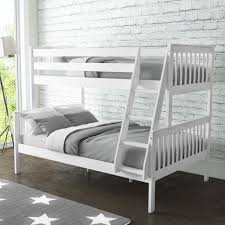 Oxford Triple Bunk Bed In White Small Double Furniture - Double bunk beds
