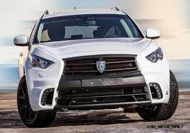 infiniti jeep 2016 larte design infiniti qx70 is mad fast mad suv upgrade program