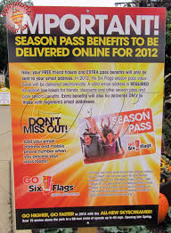 Free Tickets To Six Flags Six Flags Coupons Season Pass Coupons On Makeup Of Maybelline
