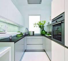 small modern galley kitchen kitchen design