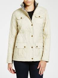 north face lixus jacket barbour manderston quilted jacket in white lyst